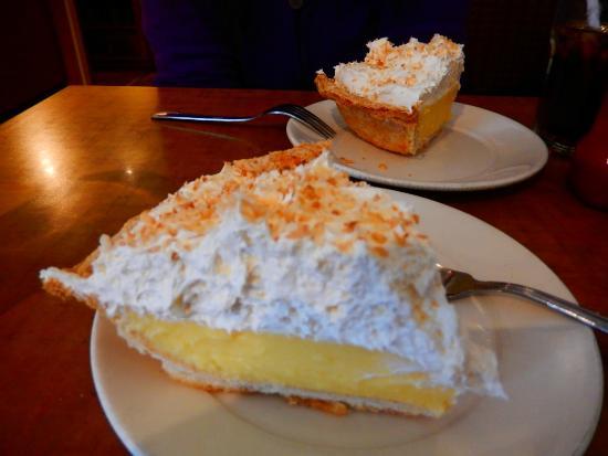Home Restaurant: coconut cream pie