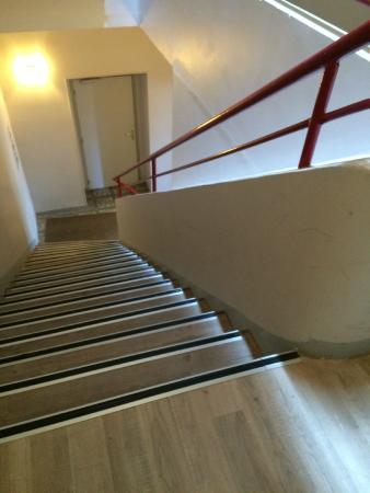 Au Royal Hotel: escalier