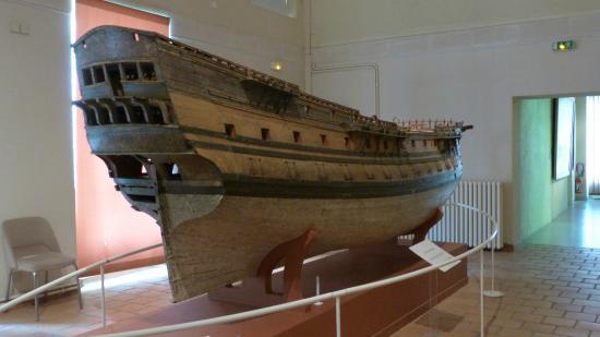 Musée National de la Marine : une très grande maquette