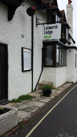 Lulworth Lodge: Good Room, Excellent Food