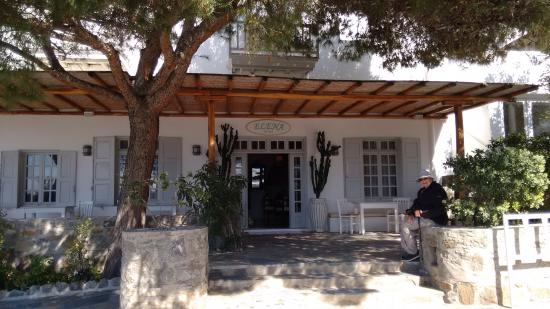 Entrance to Hotel Elena