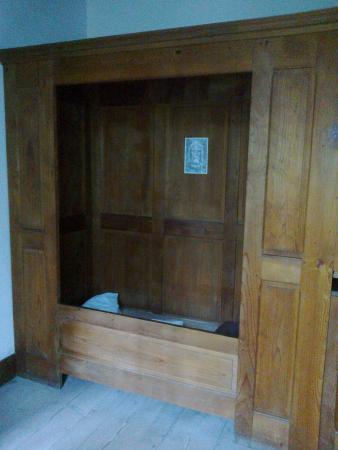 Musée de la Grande Chartreuse: cellette dei monaci