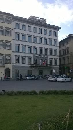 Hotel Roma : Façade de l'hôtel