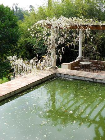 Fuente del trit n picture of la concepcion jardin for Bodas jardin botanico malaga
