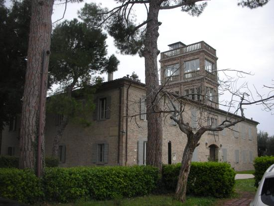 Il Pignocco Country House: un particolare della villa settecentesca