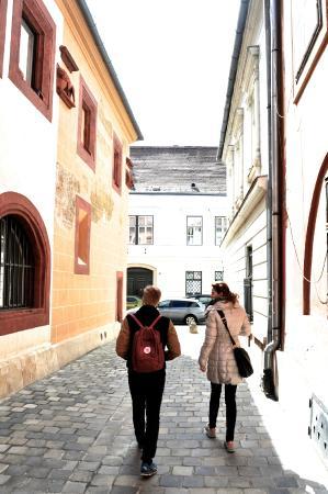 Var vandring fran by till stad