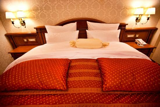 Standard Double King Size Bed Picture Of Multi Grand Hotel Abovyan Tripadvisor