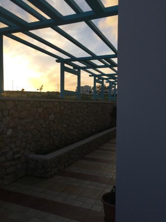 Villa Rose: Sunset view