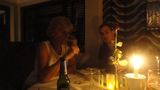 Giorgio's at The View: by candle-light