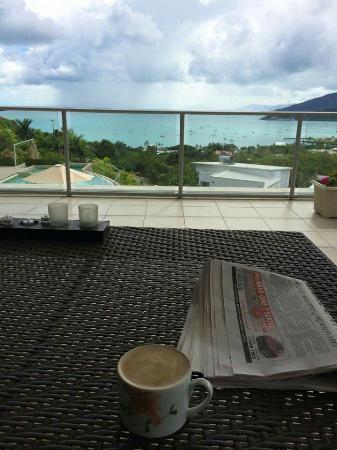 Searene Whitsundays: Our beautiful honeymoon apartment!