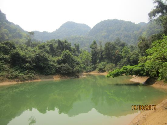 location photo direct link oxalis adventure phong bang national park quang binh province