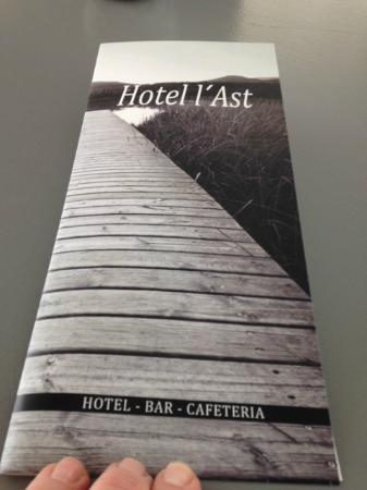 Hotel l'Ast Restaurant: Muy grata sorpresa el gran cambio del Hotel L'Ast