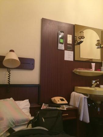 Hotel Furstenhof: The perfect small room!