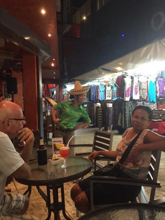 Crazy Gringos Mexican Restaurant : Friendly staff
