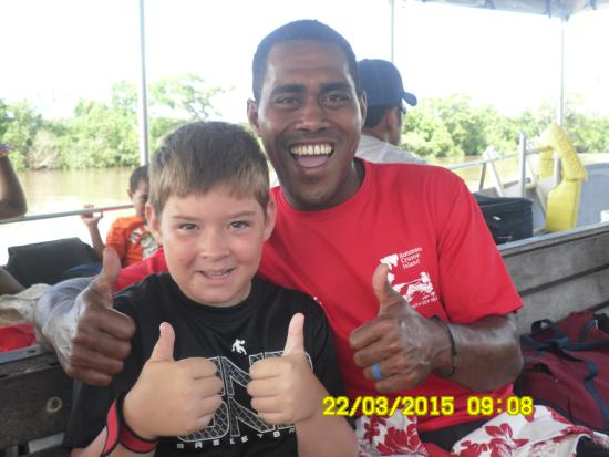 Likuri Island, Fiji: lukee you rock xxxx