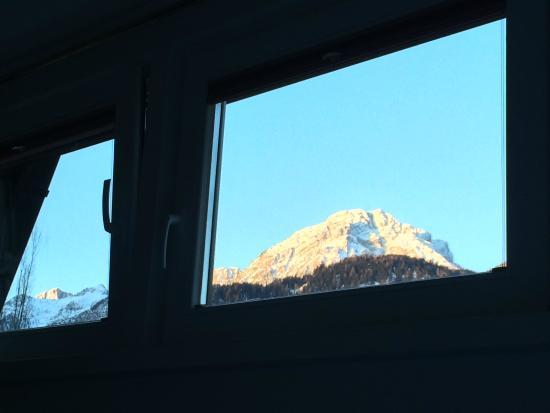 Garni Villa Bachmann: Aussicht (vista appartamento de luxe)