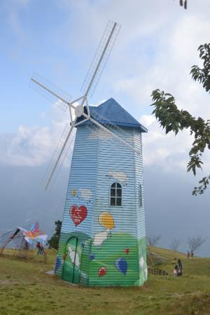 Cingjing Veterans Farm: Windmill at Cinjing Farm