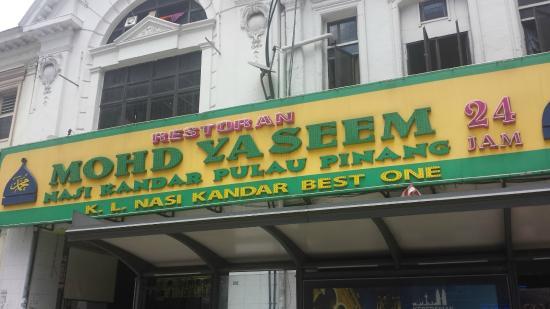 Mohd Yaseen Nasi Kandar