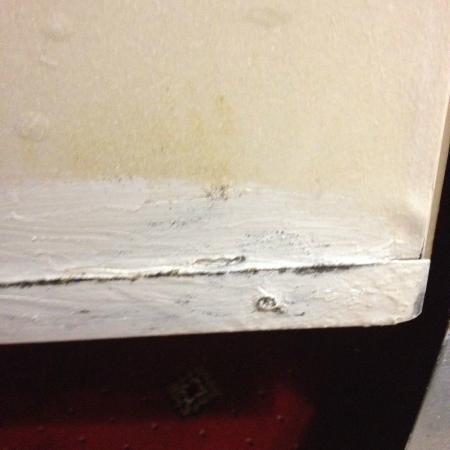 Arran House Hotel: Bathroom door