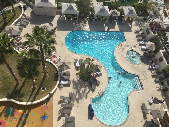 Newport Beach Marriott Hotel Spa View Of Pool