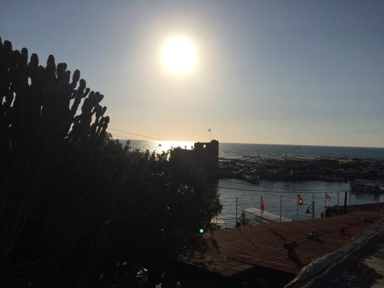 Byblos Fishing Club Guesthouse: View from roof at room 3