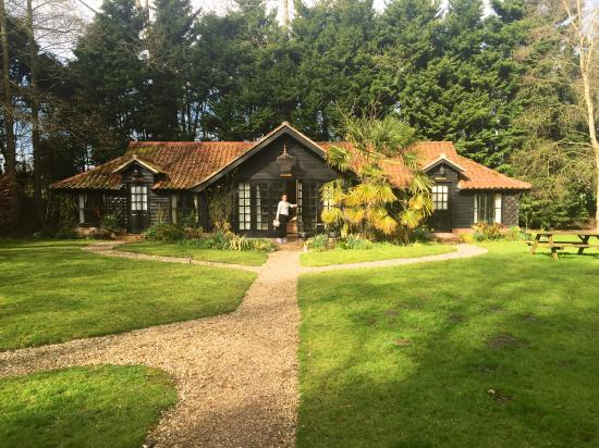 Felbrigg Lodge: Bramble suite.