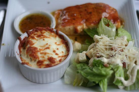 Restaurant Poissonnerie Escoumins: Le plat minute décongelé, à la pêcherie Manicouagan