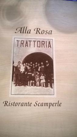 Ristorante Scamperle: menu
