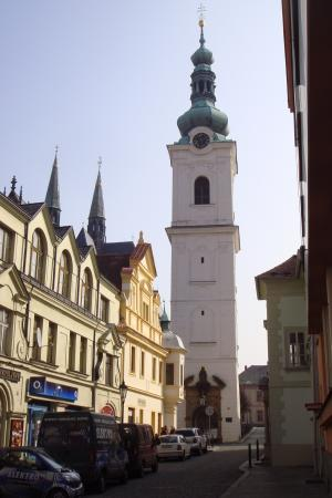 Klatovy, Češka Republika: Weißer Turm