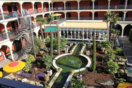 Hôtel El Andaluz : Ausblick aus unserem Zimmer im El Andaluz