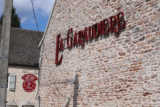 La Garaudière : Le nom du restaurant