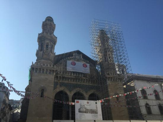 Ketchaoua Mosque: Under renovations