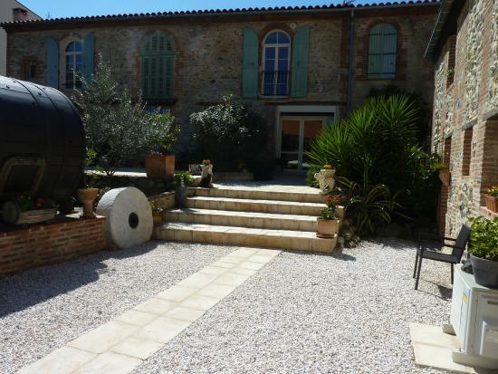 Domaine De La Tannerie : L'accès au jardin