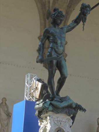 不错 Picture Of Perseus Statue Florence Tripadvisor