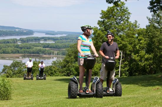Galena, IL: Try the Segways at Chestnut Mountain Resort