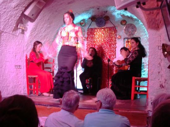 Cuevas Los Tarantos primo gruppo