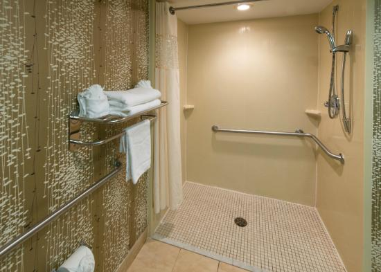 Hampton Inn Charlotte / Matthews: Bathroom