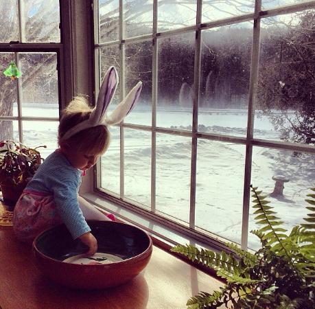 Easter morning at Johnnycake Flats Inn