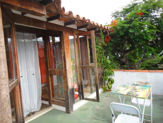 Beira do Mar : Terraza de la habitación 6