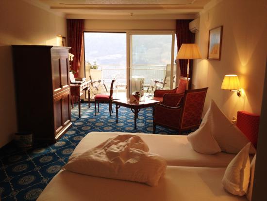 Hotel Castel: Blick vom Zimmer