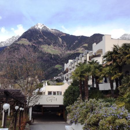 Hotel Castel: Zufahrt
