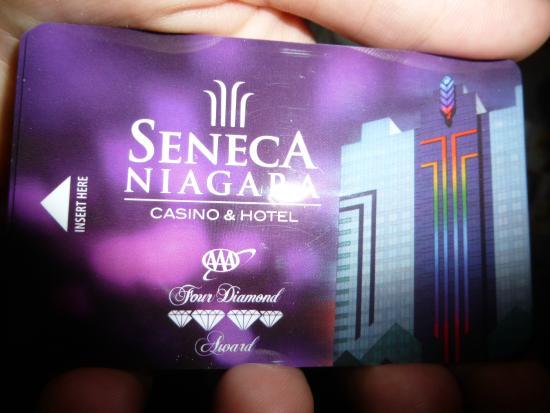 Seneca Niagara Resort & Casino: Llave