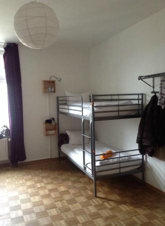 St. Christopher's Inn Berlin: 4-bed dorm