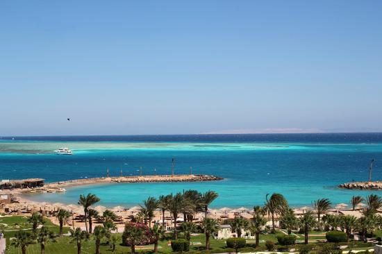 Hilton Hurghada Plaza: View from he room