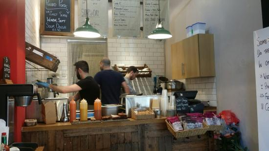 Shambles Kitchen : Lovely staff and food