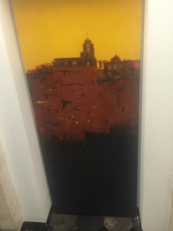 Ristorante Andrea: Porta dipinta.