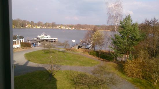 Seehotel Zeuthen: Zimmerblick