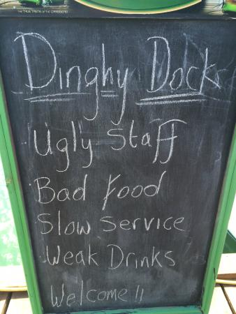 Waiting For The Ferry Picture Of Dinghy Dock Bar Op Oyster Pond Tripadvisor