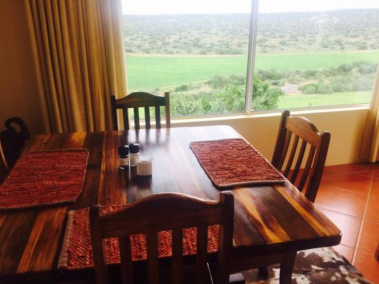 Kududu Guest House: Breakfast room with a view