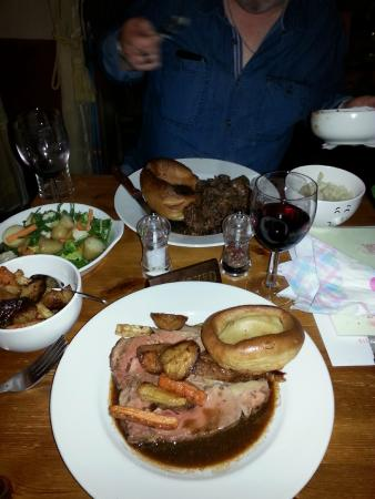 Lealholm, UK: Lovely dinner